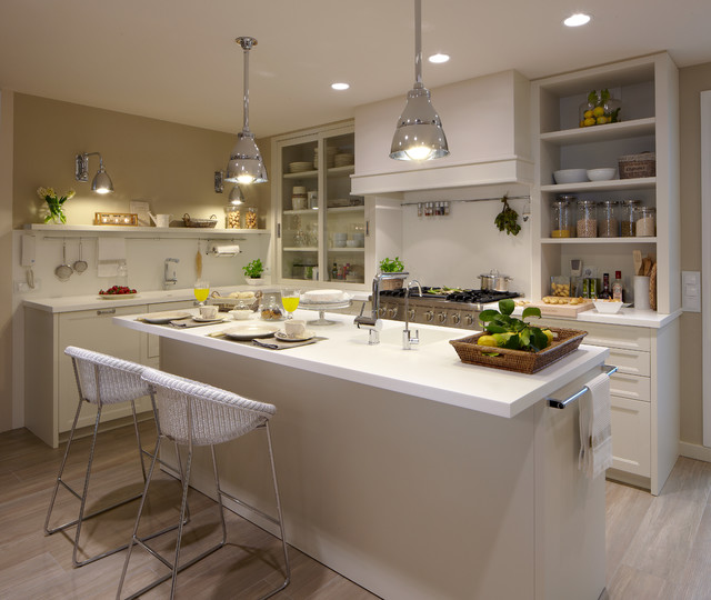 Cocina moderna con despensa y lavadero - Cocinas espectaculares ...