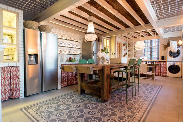 Cocinas casa decor mediterr neo cocina madrid de for Casa moderna mediterranea