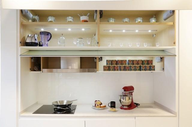 Diseño de Cocina Pequeña en Madrid - Modern - Küche - Madrid ...