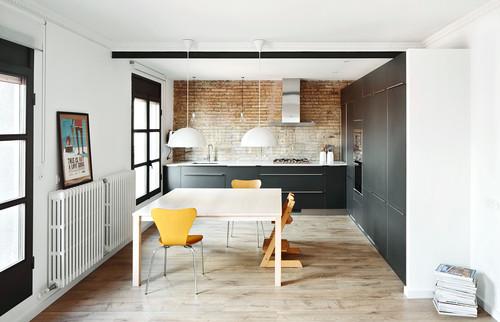 Salon Y Cocina | Que Hacer Para Integrar La Cocina Con Exito En El Salon