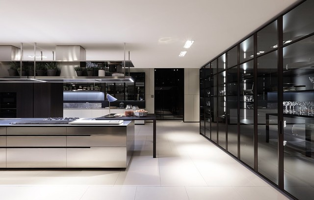 Poliform Kitchen Design. Feria Milan 2016 Varenna Poliform contemporary kitchen