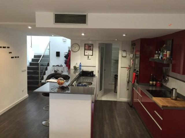 Reforma integral de piso for Cuisine classique chic