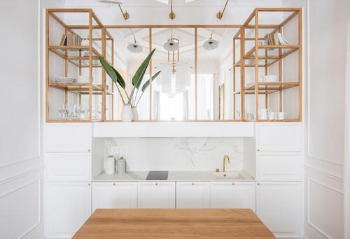 Comment Occuper L Espace Entre Meubles De Cuisine Et Plafond