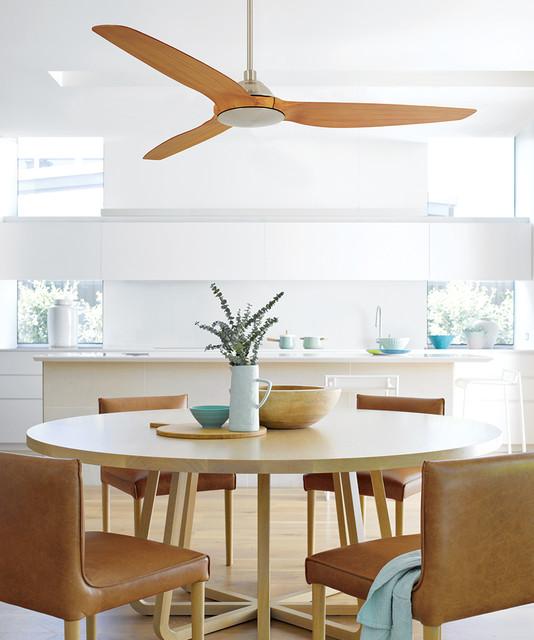 Casa bruno cocina con ventilador de techo airfusion a - Ventilador de techo cocina ...