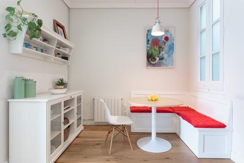 Buscamos un banco para esquina de cocina como este, donde encontrarlo?
