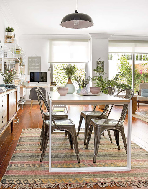 Reportaje piso n rdico comedor madrid de deco living for Deco living comedor