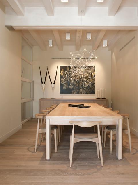 TRABAJOS REALIZADOS contemporary-dining-room