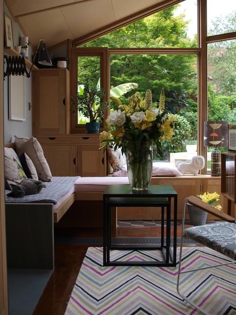 Eclectic Sunroom London Blackheath House Garden Room eclectic-sunroom