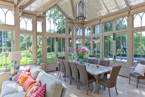 Complex Conservatory on Victorian Rectory
