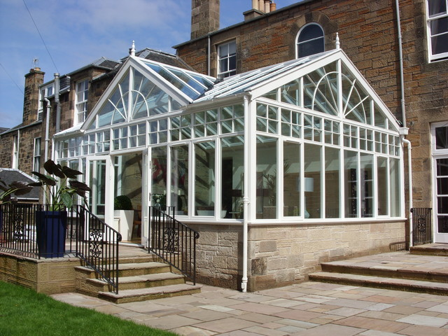 Conservatory/Family Space eclectic-exterior