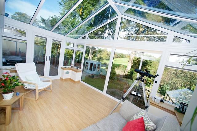 Dunfermline gable front conservatory modern sunroom for Living room kirkcaldy
