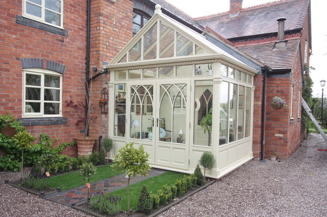 Entrance Porch Small Conservatory Traditional