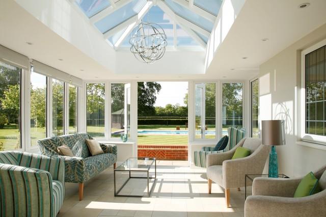 Garden rooms for Conservatory interior designs