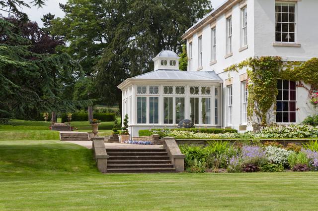 impressive dining conservatory traditional exterior. Black Bedroom Furniture Sets. Home Design Ideas
