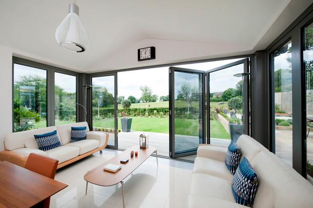 Modern Kitchen Lounge Extension Modern Wintergarten