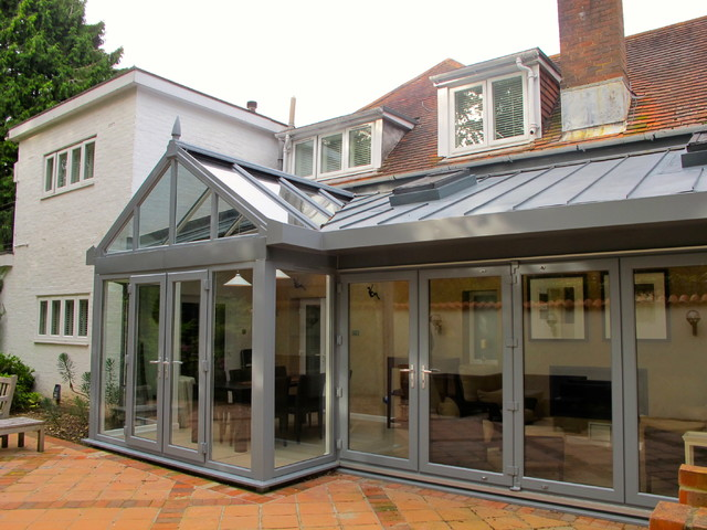 New Conservatory Contemporary Conservatory Hampshire