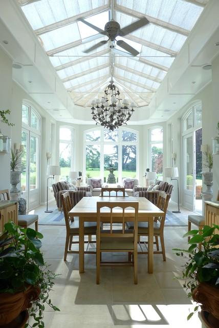 Orangery for Orangery interior design ideas