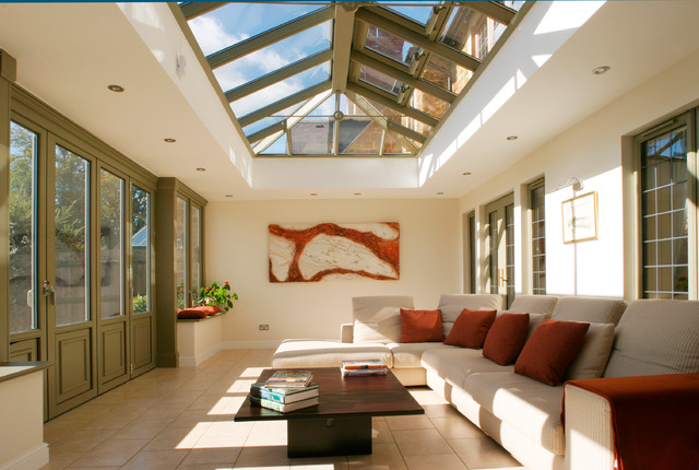 Orangery family room traditional conservatory oxfordshire by orangery family room traditional conservatory aloadofball Image collections