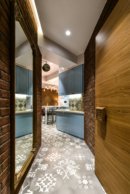 Mumbai Houzz This Compact 2 Bhk Flat Is A Lesson In Mix Match