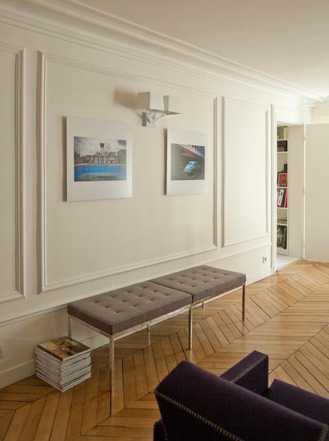 Autour d\'une entrée - Scandinavian - Hall - Paris - by ATELIER FB