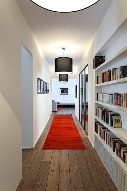 casa low couloir paris par antonio virga architecte. Black Bedroom Furniture Sets. Home Design Ideas