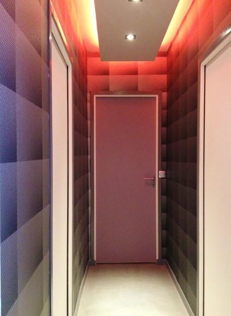Private villa renovation contemporary-hall