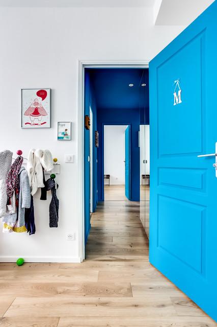 Couloir d\'entrée - Modern - Flur - Paris - von dixheuresdix.