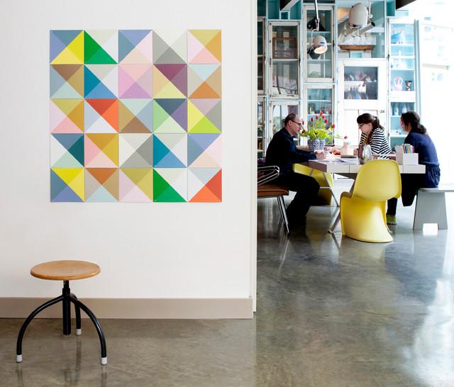 Souvent Décoration murale graphique Loco Color - Contemporain - Couloir  HD42