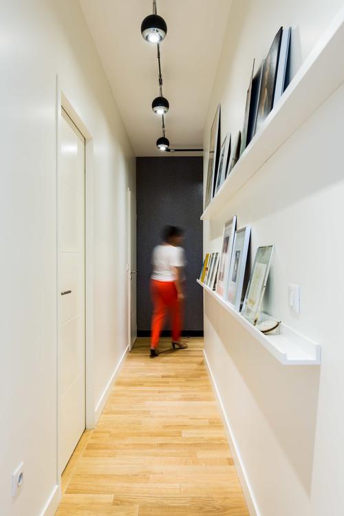 couloir galerie d'art