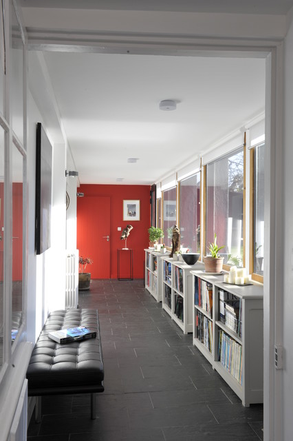 Extension pour enfants contemporain couloir rennes for Couloir contemporain