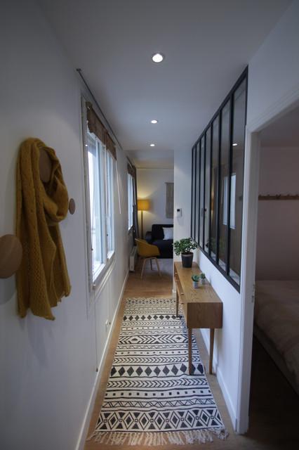 L\'entrée - couloir - Skandinavisch - Flur - Paris - von Mojo ...
