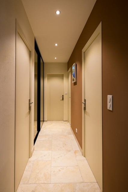 decoration interieur moderne couloir