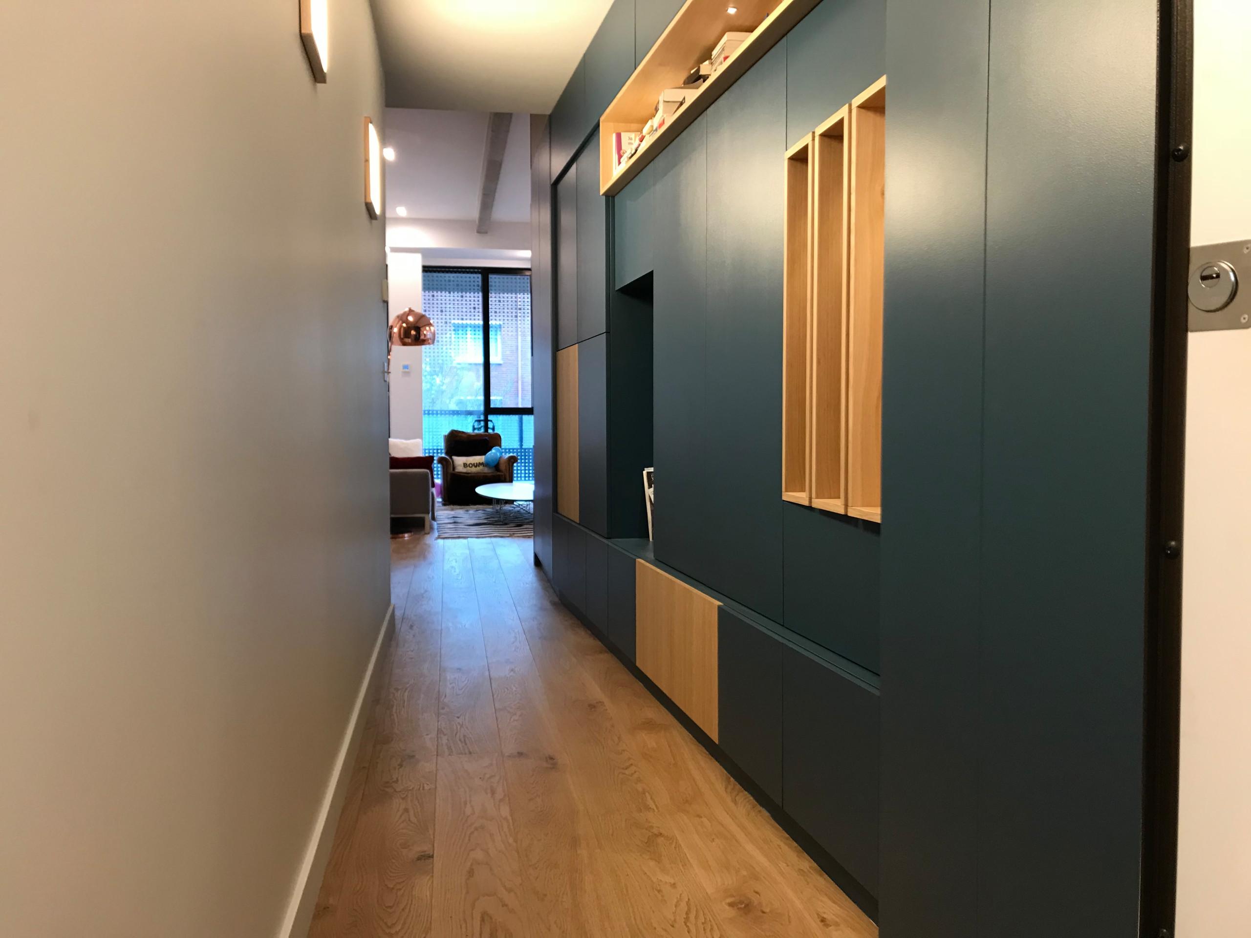 Rénovation totale et agencement d'un appartement - 110m2