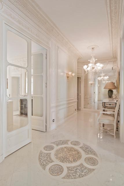 Renaissance haussmannien - Deco couloir baroque ...