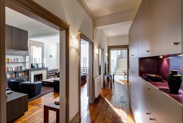 R novation d 39 un appartement ancien en duplex bordeaux - Appartement en duplex abraham architects ...