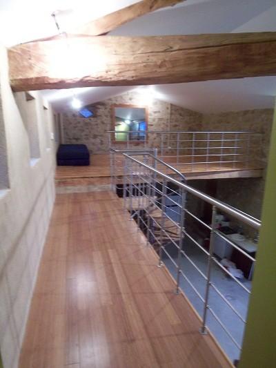 R novation de grange en appartement for Idee renovation couloir