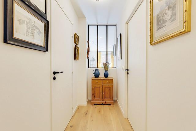 Rénovation et agencement couloir et pièce à vivre - Modern ...