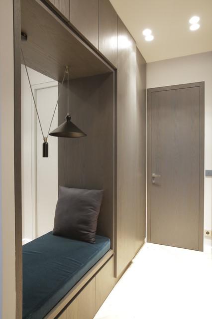 Rue Albert Samain 17 - Contemporary - Hallway & Landing ...