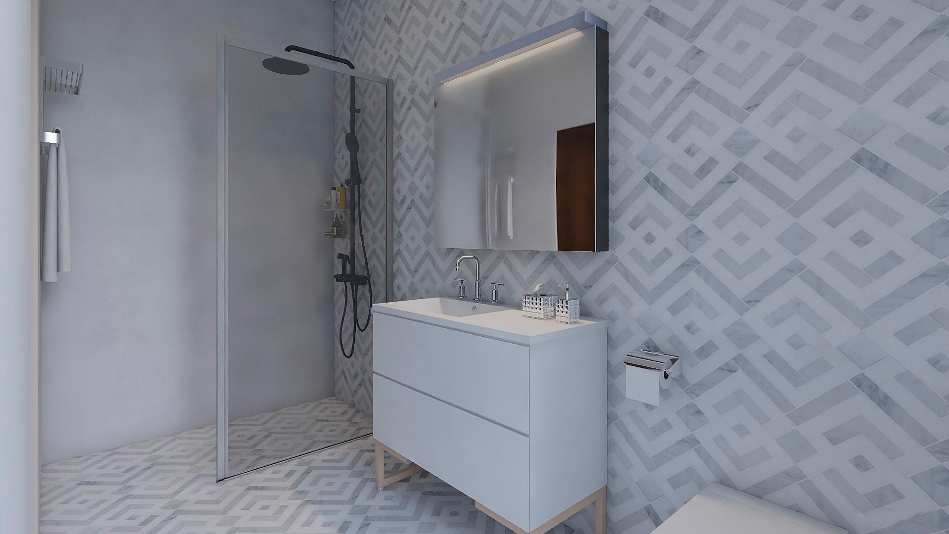 Baño en suite dormitorio 2