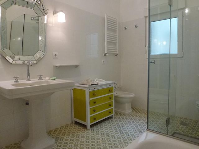 Baldosas Hidráulicas Baño:Baños con baldosas hidráulicas retro-cuarto-de-bano