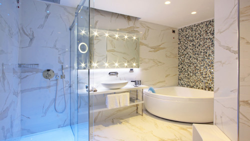 Bathroom project Calacatta