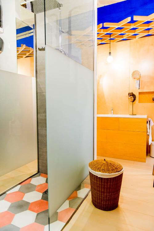 baño en piso de madrid de rocio bardin en diariodesign