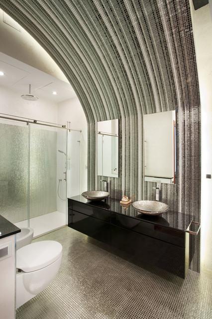 Chalet en Santa Clara - Contemporáneo - Cuarto de baño ...