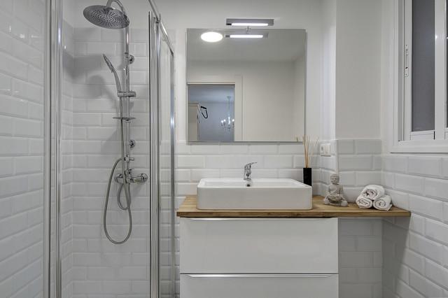 Cuarto de baño pequeño - Eklektisch - Badezimmer - Sonstige ...