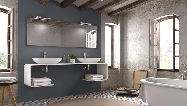 diseño interior baño roca