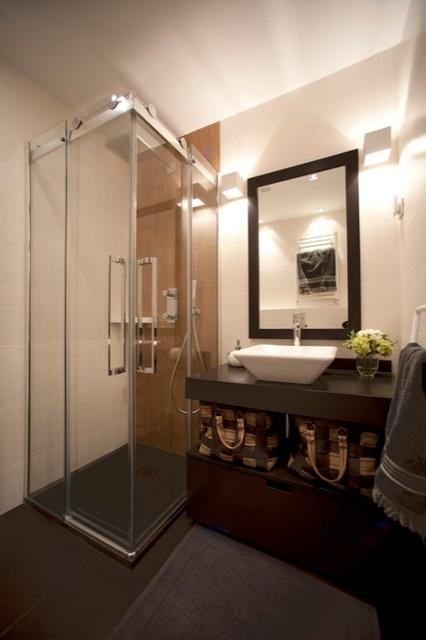 Diseño interior de casa con gran cocina - Contemporáneo - Cuarto de ...