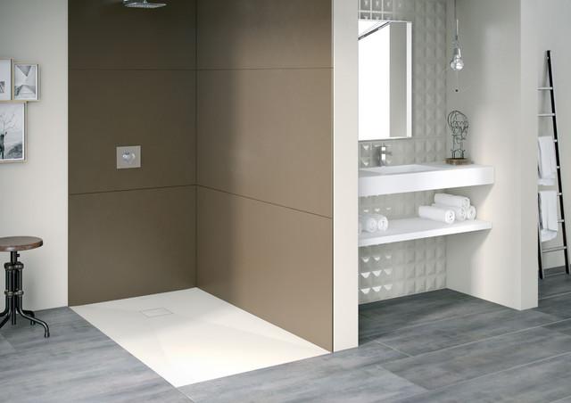 Platos de ducha mc bath moderno cuarto de ba o otras for Duchas disenos modernos