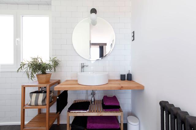 perfect imagen de cuarto de bao con ducha minimalista de tamao medio con armarios with diseo de cuartos de baos modernos with cuartos de bao modernos