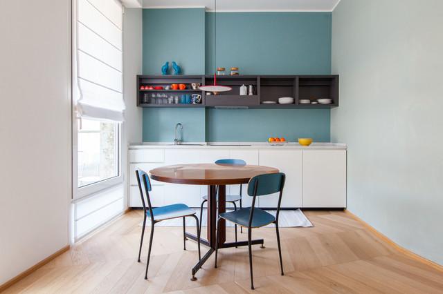 A casa di Lorenzo contemporaneo-cucina