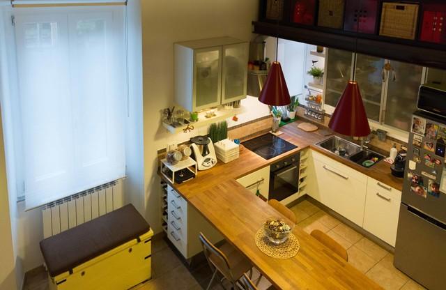 Cucine Moderne Con Angolo Cottura.Angolo Cottura Moderno Cucina Roma Di Progetto C3